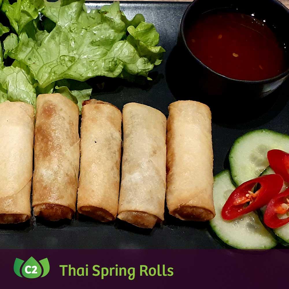 Thai Spring Rolls ROULEAUX DE PRINTEMPS THAI