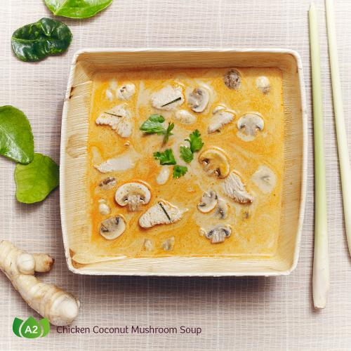 A2 Tom Khaa Gai Chicken Coconut Mushroom Soup