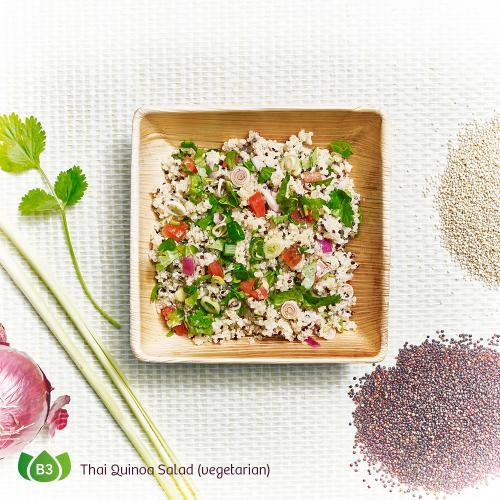 B3 Yam Quinoa Thai Quinoa Salad