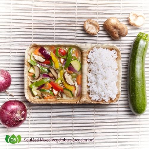 D8 Pad Pak Ruam Sauteed Mixed Vegetables