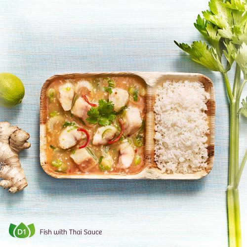 D1 Pla Rad Prik Fish with Thai Sauce