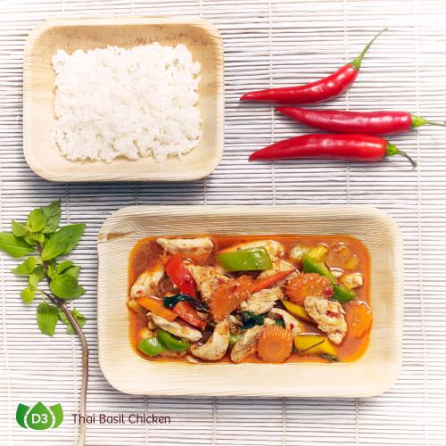 D3 Gai Pad Kaprao Thai Basil Chicken